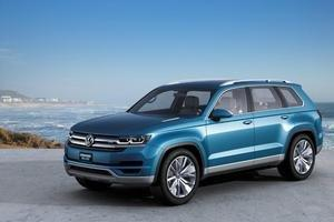 Volkswagen CrossBlue Mid-Size SUV Concept Makes Global Debut at the North American International Auto Show