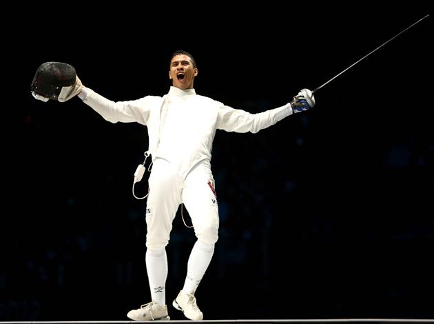 When fencer Ruben Limardo set off for the London Olympics, he little imagined that he would be 