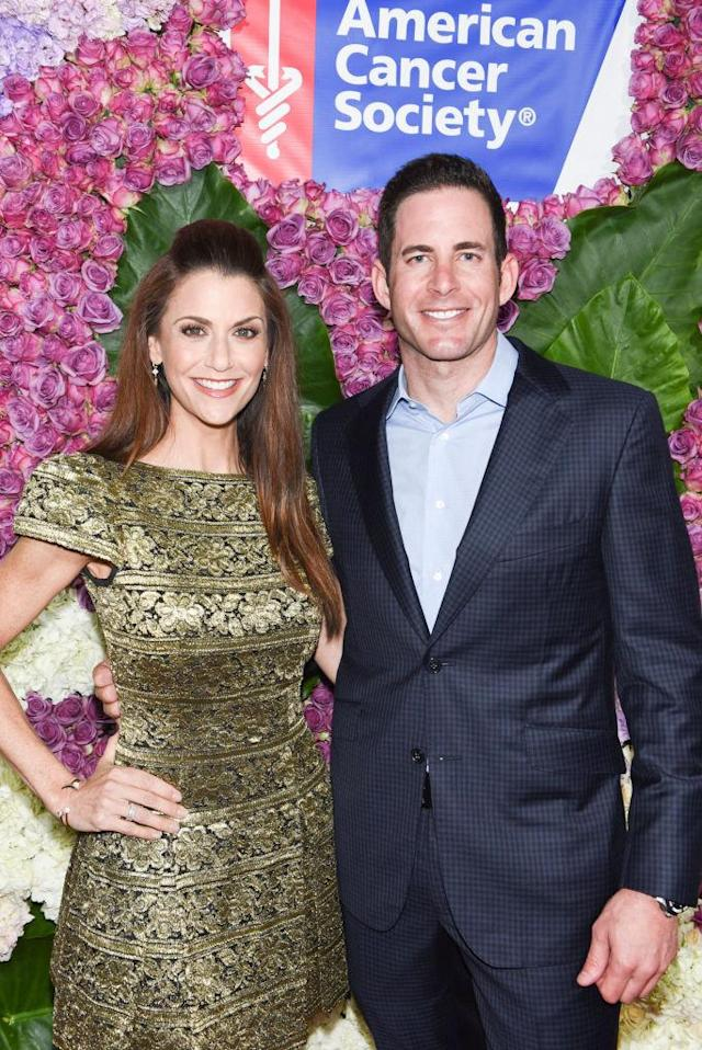 "<p>Cancer survivor and <em>Flip or Flop</em> host El Moussa and Harris, former <em>Dancing With the Stars </em>host, celebrated the American Cancer Society's Giants of Science Gala fundraiser in L.A. On the red carpet, El Moussa, who has revealed that he's now <a href=""https://www.instagram.com/p/BPtpiMDjFbd/?taken-by=therealtarekelmoussa"" rel=""nofollow noopener"" target=""_blank"" data-ylk=""slk:cancer-free"" class=""link rapid-noclick-resp"">cancer-free</a>, explained how his diet and lifestyle have been affected by his cancer diagnosis. ""<span>I'm doing more cardio than weightlifting — I used to do more weightlifting,"" he tells Yahoo Lifestyle. ""Diet wise, I've been doing more juicing. I try to eat organic."" </span>(Photo: Michael Bezjian/Getty Images for the American Cancer Society) </p>"