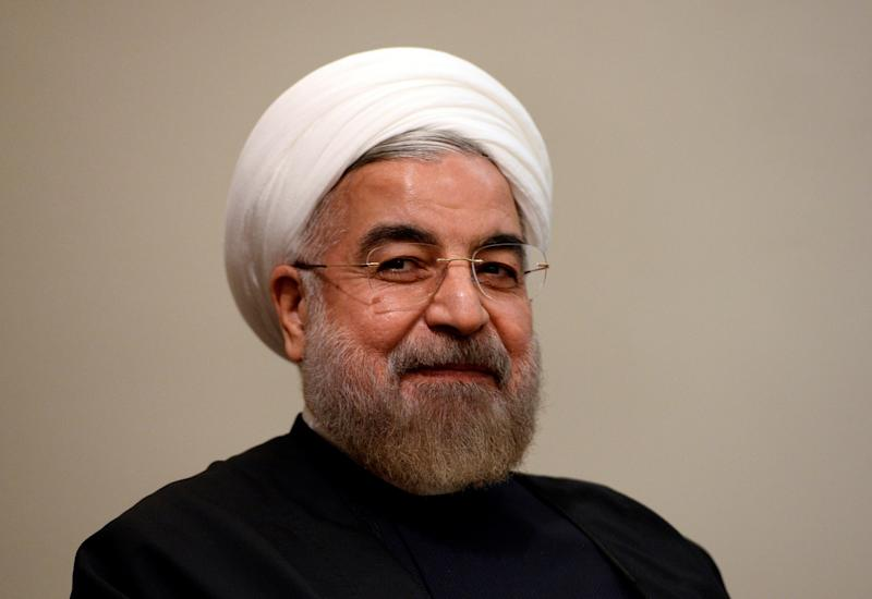 Iran's President Hassan Rouhani listens during a meeting with U.N. Secretary-General Ban Ki-moon on the sidelines of the U.N. General Assembly in New York