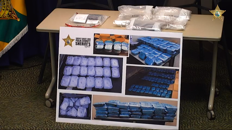 The Polk County Sheriff's Office seized 5 1/2 kilos of heroin during Operation Trifecta, the largest heroin seizure in Polk County.