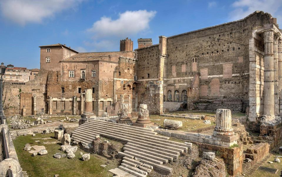 The Forum of Augustus - Getty