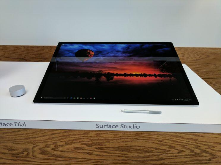 Surface Studio as a tablet.