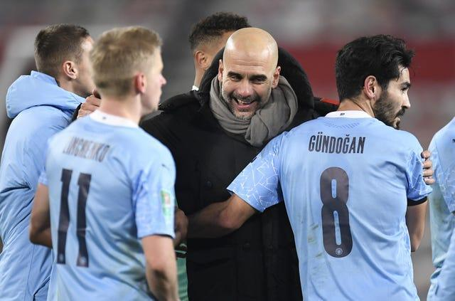 Guardiola wants to focus on the players he has