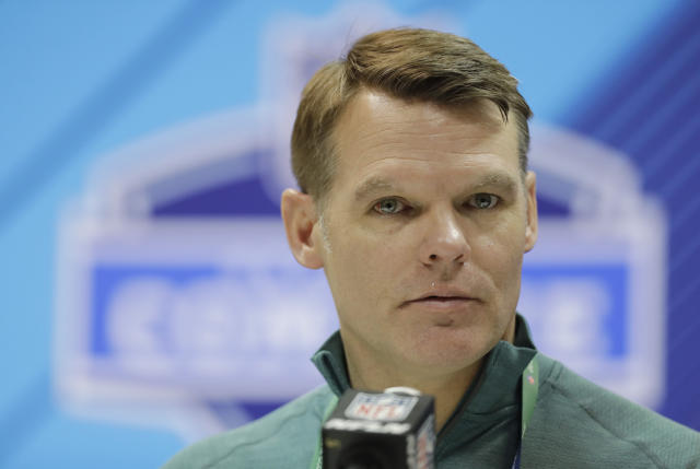 Despite being left at the coaching altar by Josh McDaniels, Indianapolis Colts general manager Chris Ballard did not support a proposed rule that would have prevented other coaches from leaving teams in the lurch. (AP)