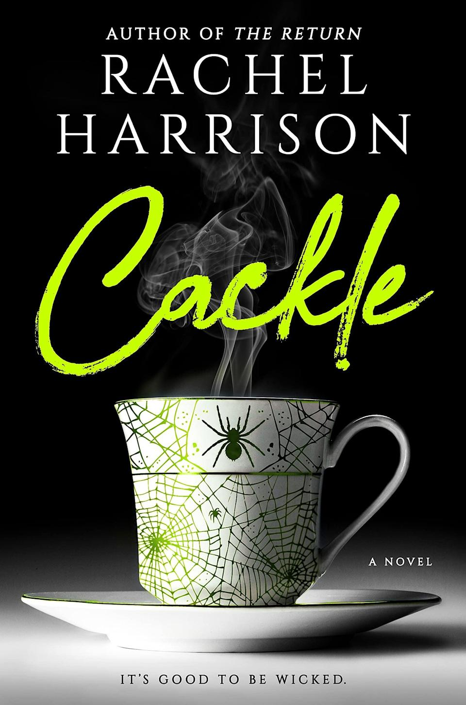 <p>Looking for wicked humor and wondrous witches? Invite yourself into Rachael Harrison's <span><b>Cackle</b></span>, where darkness and comedy come together to teach the main character, Annie, a young Manhattan woman who moves to a small upstate village, how to befriend a witch named Sophie (unknowingly, of course) and come into her own.</p>