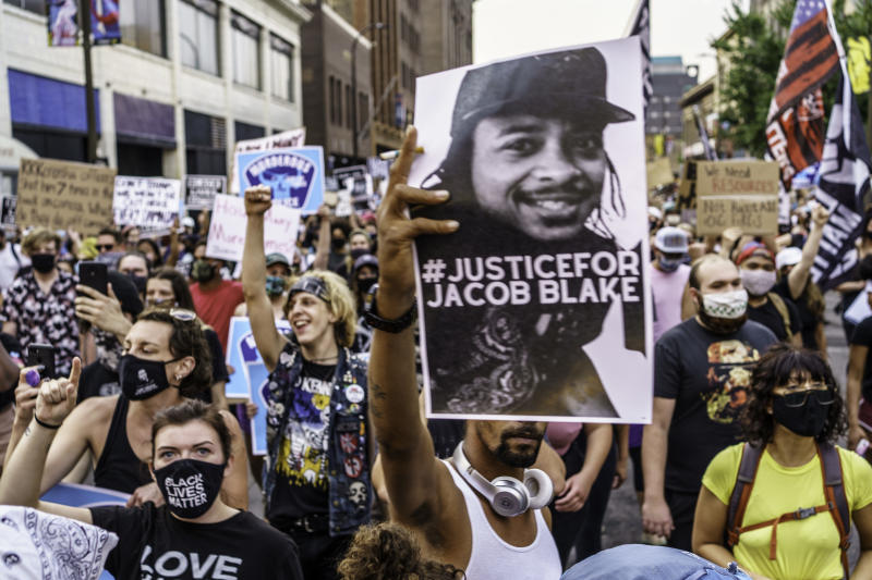 US politics is largely shaped by the conflict between black and white, stemming from slaveryAFP/Getty