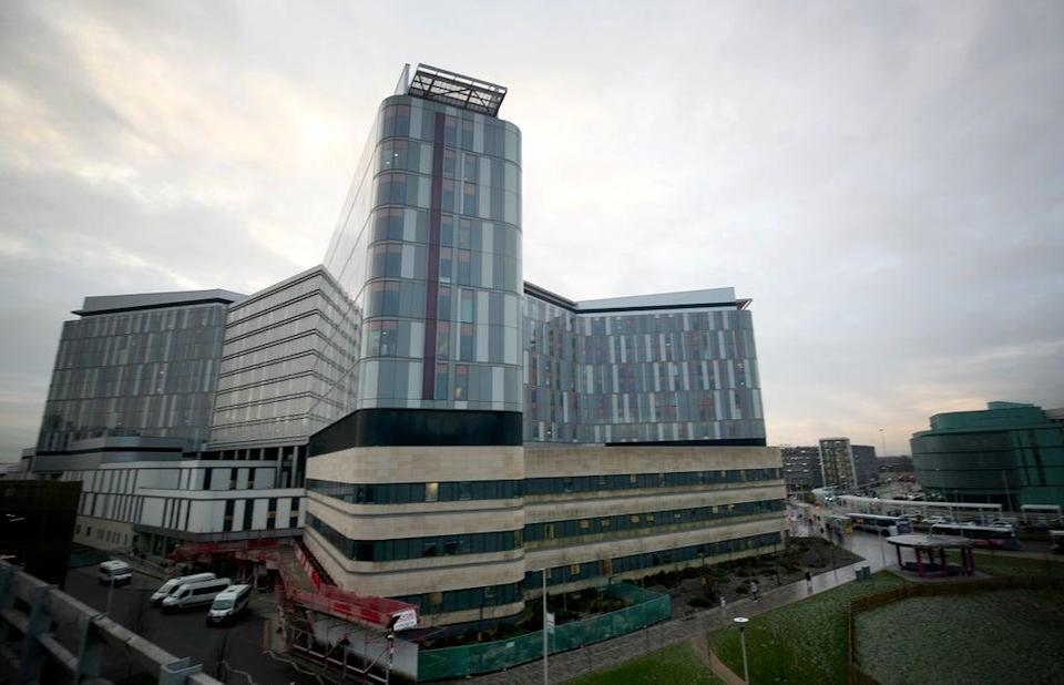 The Queen Elizabeth University Hospital campus in Glasgow (Jane Barlow/PA) (PA Archive)
