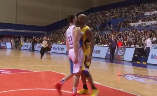 Jimmer Fredette and Stephon Marbury get to know each other.
