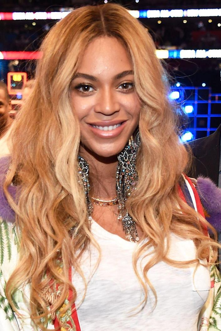 """<p>Since her Destiny's Child days, Beyoncé has almost always been <a href=""""http://www.goodhousekeeping.com/beauty/hair/news/g2443/blonde-hair-color-ideas/"""" rel=""""nofollow noopener"""" target=""""_blank"""" data-ylk=""""slk:a blonde"""" class=""""link rapid-noclick-resp"""">a blonde</a>. </p>"""