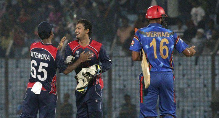 Nepal even defeated Afghanistan in their only appearance in the World Twenty 20 event