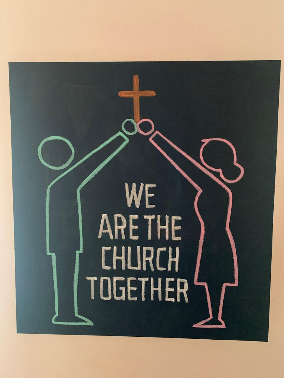 Gathering in-person isn't what defines a church and its congregation. (Photo: Jonathon Shierman)
