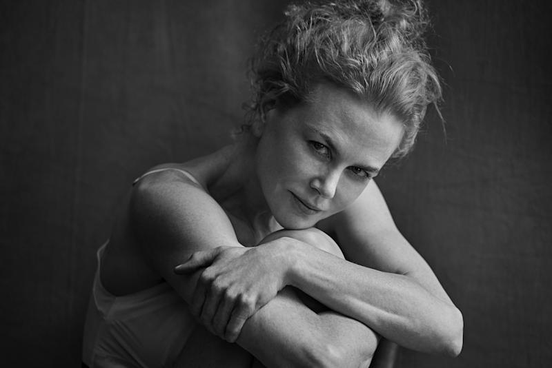 Nicole Kidman, Uma Thurman, Alicia Vikander, Rooney Mara and more stars appear unretouched in the just-unveiled Pirelli Calendar 2017, shot by Peter Lindbergh — see the photos here!