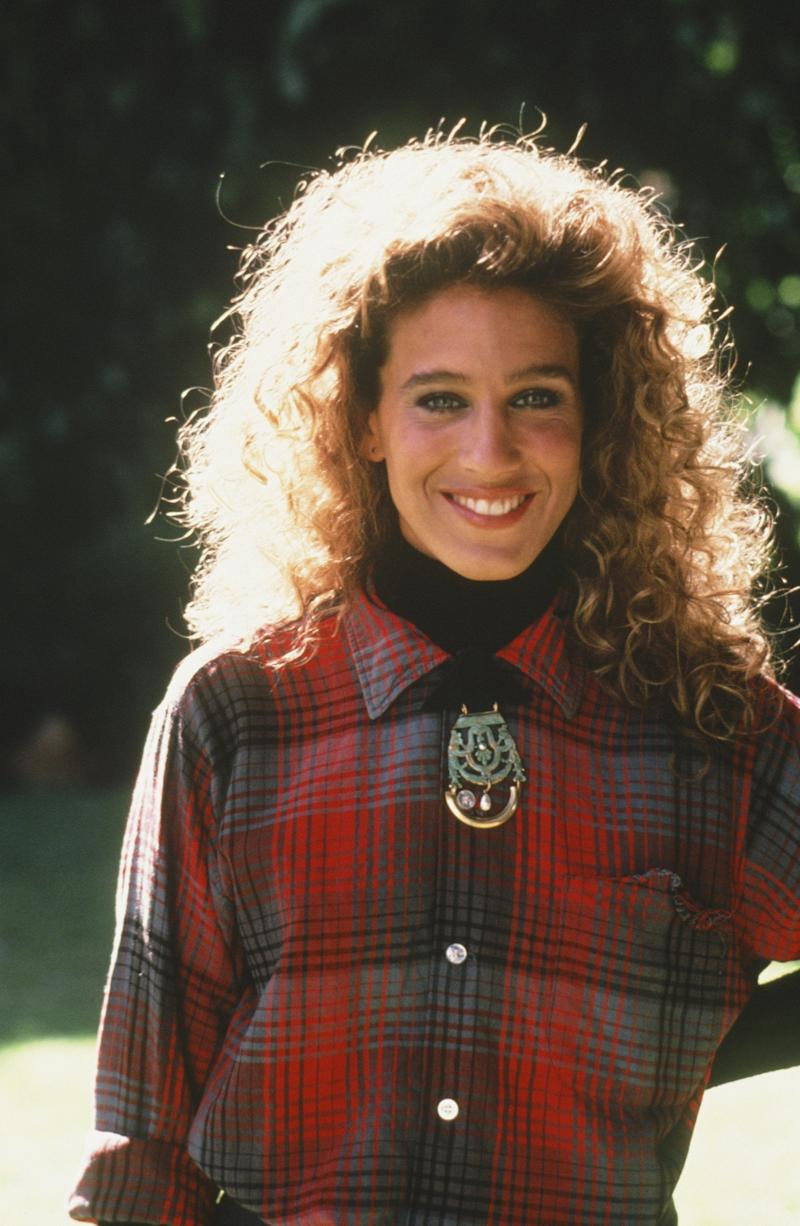 "The actress seen on set of the 1987 miniseries ""A Year In The Life."""