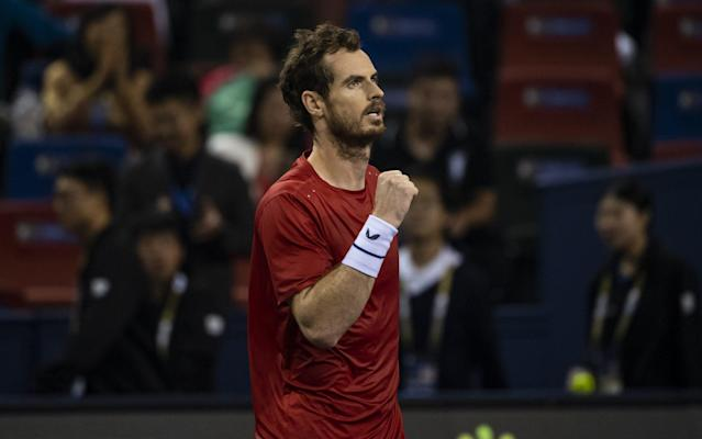 Andy Murray defeated Argentinian Juan Ignacio Londero for his fifth tour-level victory since undergoing hip surgery in January - Getty Images AsiaPac