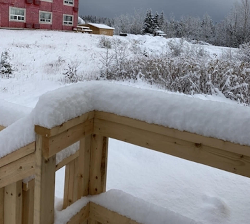 First significant fall snow in Ontario may bring 15 cm