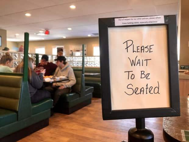 Restaurants were allowed to reopen their dining areas on Thursday after a lockdown that restricted them to takeout only. (Steve Bruce/CBC - image credit)