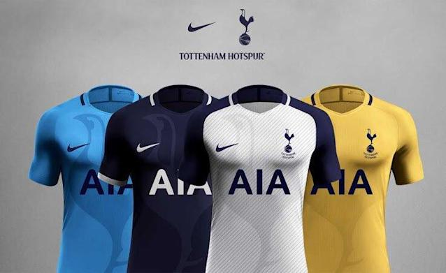 <p>As Spurs potentially prepare to move to a temporary new home, could these be the kits that Mauricio Pochettino's men could use to banish those Wembley woes? </p>