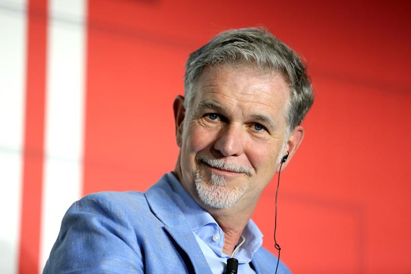 ROME, ITALY - OCTOBER 08: Reed Hastings attends the Netflix & Mediaset Partnership Announcement, Rome, 8th October 2019. (Photo by Ernesto S. Ruscio/Getty Images / Netflix)