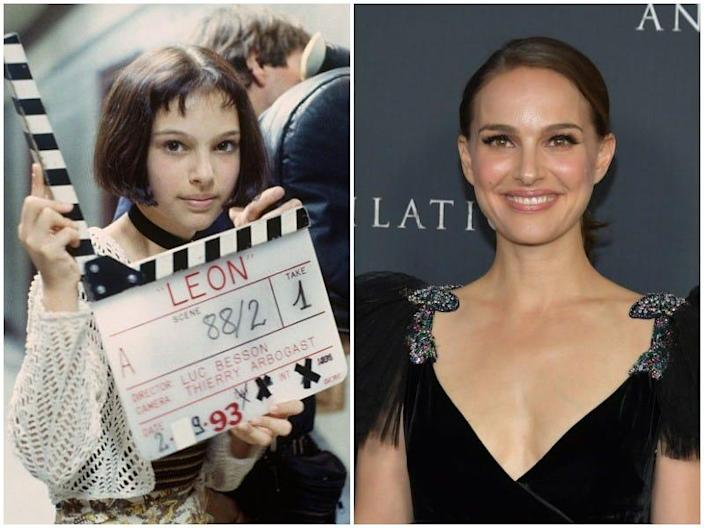 natalie portman then and now