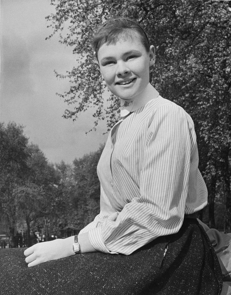 <p>A 22-year-old English actress, Judi Dench, is set to play the Virgin Mary in a production of the York Mystery Plays. </p>