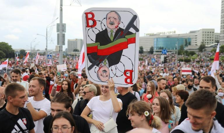 Lukashenko has ruled Belarus with an iron fist for two decades and claimed a landslide victory in polls in August, sparking huge protests that swept the country for months