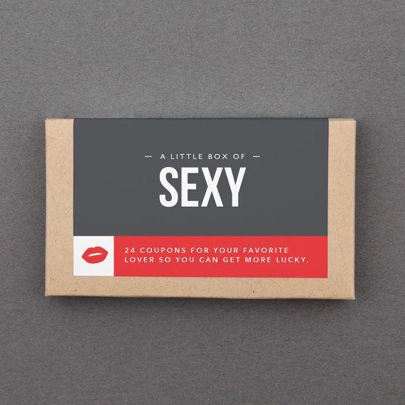 """With cards like """"Nooner"""" and """"Naked Chef,"""" <a href=""""https://www.etsy.com/listing/259963615/1-year-anniversary-gift-for-him-her"""" target=""""_blank"""">these 24 sexy coupons</a> willheat the holidays right up. This Etsy seller alsocreates coupon cards for things like """"<a href=""""https://www.etsy.com/listing/547596708/first-anniversary-gift-for-boyfriend-1st"""" target=""""_blank"""">Date Nights</a>,"""" """"<a href=""""https://www.etsy.com/listing/458458900/1-year-anniversary-gift-for-her-him"""" target=""""_blank"""">Romance</a>,"""" and """"<a href=""""https://www.etsy.com/listing/543755154/stocking-stuffer-for-man-him-boyfriend"""" target=""""_blank"""">Kinky</a>."""""""