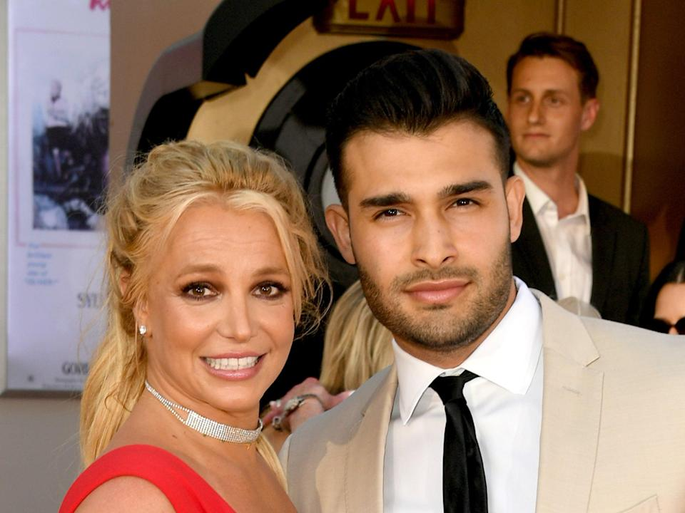 Britney Spears has been dating Sam Asghari since 2016Getty Images