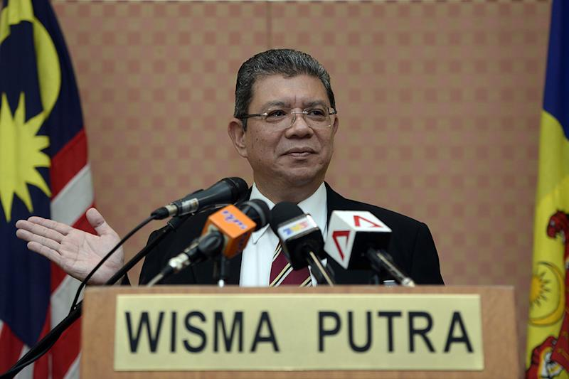 Image result for foreign minister saifuddin abdullah