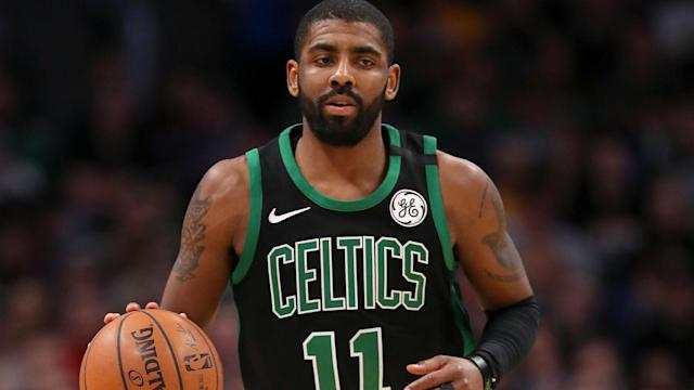 Kyrie Irving has averaged 24.4 points, 5.1 assists and 3.8 rebounds in 60 games this season. (AP)