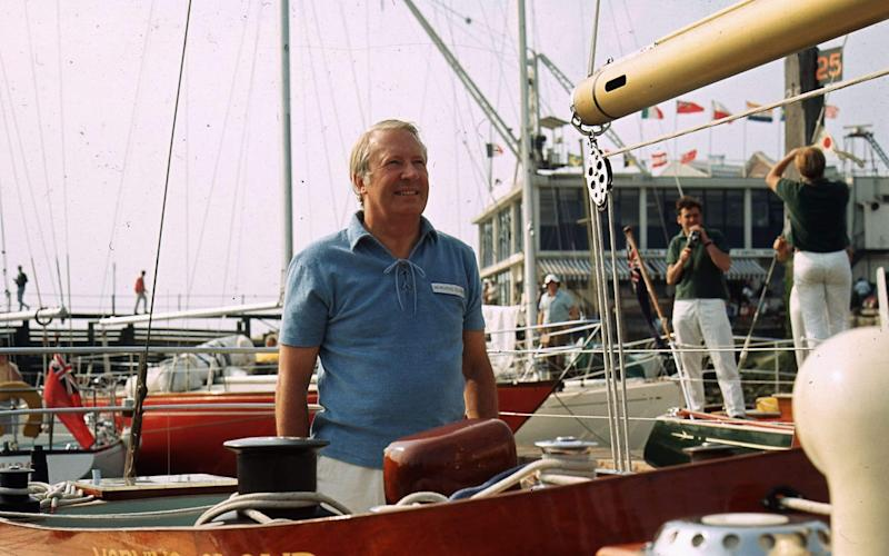 Sir Ted Heath was accused of abusing youngsters on board his yacht