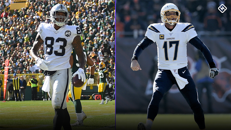 DraftKings Week 10 Thursday Night Showdown: Picks, advice for Raiders vs. Chargers NFL DFS