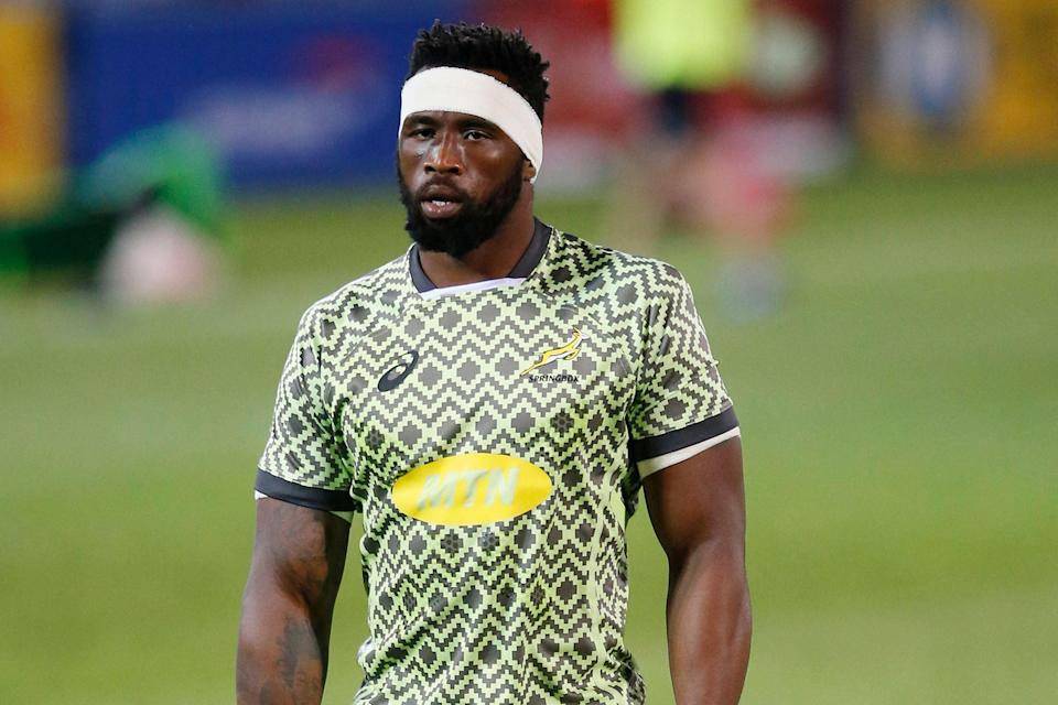 Siya Kolisi had a Covid scare but is back to skipper the Boks (AFP via Getty Images)
