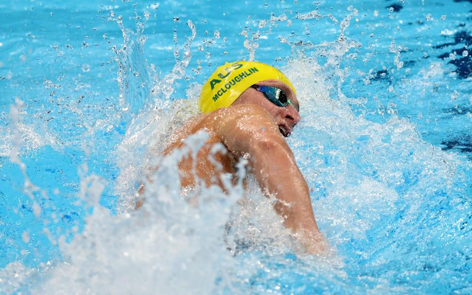 Australia's Jack McLoughlin won the silver medal - GETTY IMAGES