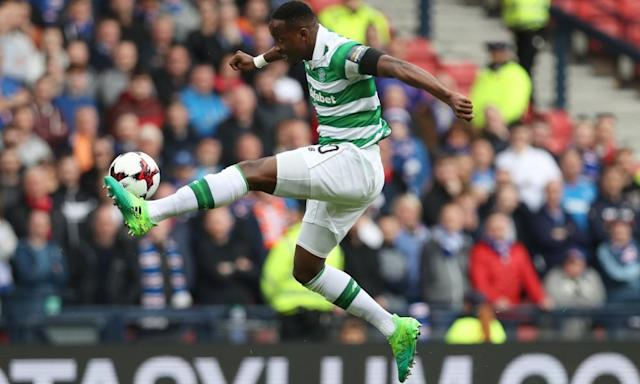 "<span class=""element-image__caption"">Brendan Rodgers has developed a policy of playing either Moussa Dembélé or Leigh Griffiths.</span> <span class=""element-image__credit"">Photograph: Ian MacNicol/Getty Images</span>"