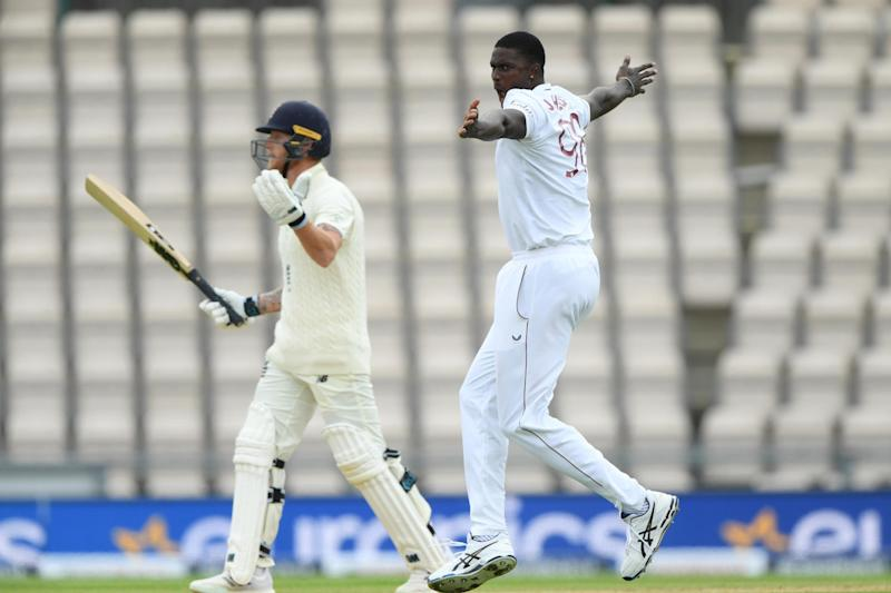 Holder was particularly pleased with the dismissal of fellow skipper Ben Stokes in Southampton (Getty Images for ECB)