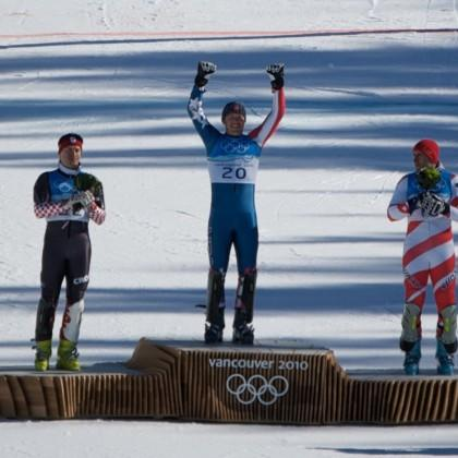 """<div class=""""caption-credit"""">Photo by: Tabercil</div><div class=""""caption-title"""">Bode Miller</div>Bode Miller has won five medals in the Winter Olympics, the most of any U.S. skier--two silvers in Salt Lake City 2002; and a gold , a silver, and a bronze in Vancouver 2010. Will he do it again? The pressure is on! The name Bode is an alternate form of <a rel=""""nofollow"""" href=""""http://www.babyzone.com/baby-names/baby-boy-names/meaning-of-boden_113368"""" target=""""_blank"""">Boden</a> and means """"shelter,"""" """"herald"""" or """"one who brings news."""""""