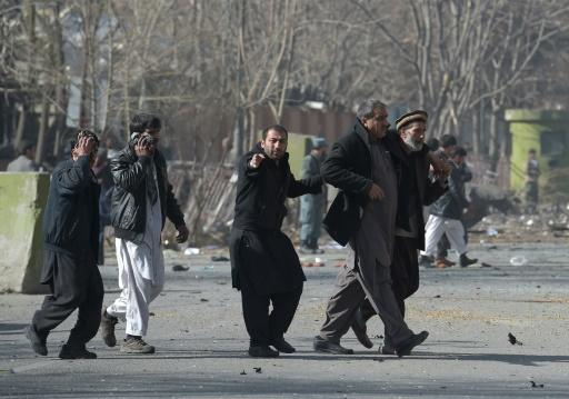 Fast 100 Tote bei Anschlag in Kabul