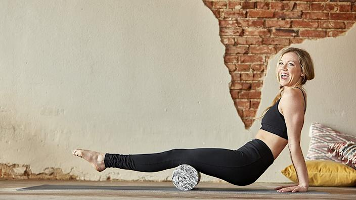 Feeling sore after a workout? The right foam roller can help ease muscle tension.