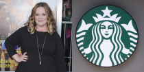 """<p>Before she was the star of movies like <em>Bridesmaids </em>and <em>Spy</em>, Melissa worked as a barista at Starbucks and once had her own celeb sighting when Chris Farley came in for a drink. """"At one point, I got so overwhelmed because he was right there, that I started crying,"""" she <a href=""""http://www.eonline.com/news/481561/melissa-mccarthy-recalls-serving-chris-farley-at-starbucks-during-her-pre-fame-days"""" rel=""""nofollow noopener"""" target=""""_blank"""" data-ylk=""""slk:said"""" class=""""link rapid-noclick-resp"""">said</a>.</p>"""
