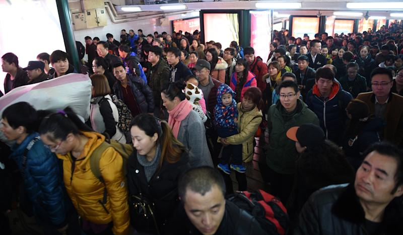 Beijing's population drops for first time since 2000 as migrants are driven out