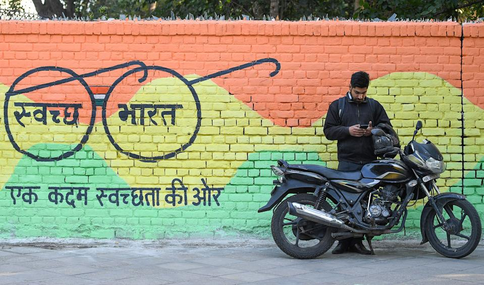 """<strong>Launched on October 2, 2014,</strong> the Swachh Bharat Abhiyan (SBA) or Swachh Bharat Mission (SBM) is a nation-wide campaign in India for the period 2014 to 2019 that aims to clean up the streets, roads and infrastructure of India's cities, towns, urban and rural areas. The campaign's official name is in Hindi and translates to """"Clean India Mission"""" in English. The objectives of Swachh Bharat include elimination of open defecation through the construction of household-owned and community-owned toilets and establishing an accountable mechanism for monitoring toilet use."""