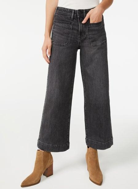 """<p>These <span>Free Assembly Women's Retro Flare Jeans</span> ($27) have rave reviews. """"BEST JEANS EVER!!"""" wrote one reviewer, while another said, """"Jeans that are WOW!"""" Shoppers love the wide-leg style and how the wash evokes a retro aesthetic.</p>"""
