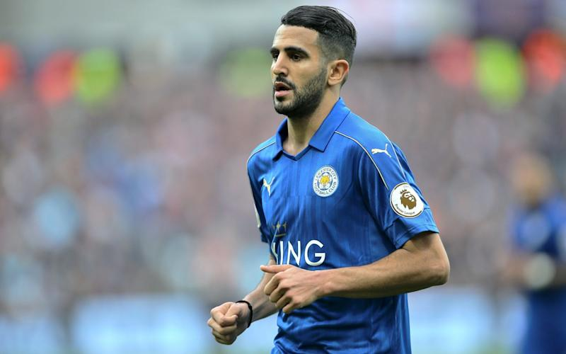 Riyad Mahrez was last season's PFA Player of the Year - Rex Features