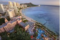 "<p>Known fondly as the ""Pink Palace of the Pacific,"" this famed Honolulu hotel helped establish a thriving tourism industry in Waikiki back in the 20s. Guests can't get enough of its panoramic views, beachfront convenience, and surrounding culture.</p><p><span class=""redactor-unlink""><strong>EXPLORE NOW</strong></span>: <a href=""https://www.tripadvisor.com/Hotel_Review-g60982-d114024-Reviews-The_Royal_Hawaiian_a_Luxury_Collection_Resort-Honolulu_Oahu_Hawaii.html"" rel=""nofollow noopener"" target=""_blank"" data-ylk=""slk:The Royal Hawaiian"" class=""link rapid-noclick-resp"">The Royal Hawaiian</a></p>"