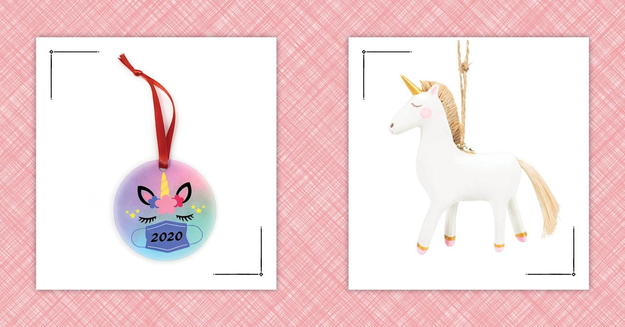 Unicorn Ornaments To Make Your Christmas Tree Even More ...