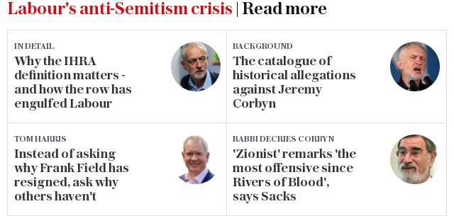 Labour and anti-Semitism | Read more