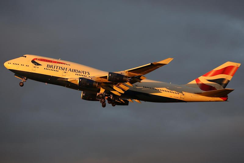 Sunset trip: British Airways and its rival, Virgin Atlantic, are grounding Boeing 747 aircraft: Matt Purton
