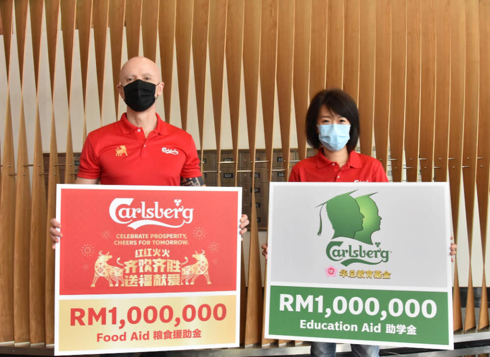 Carlsberg Malaysia has teamed up with various media corporations and the Huazong association for this initiative. — Picture from Carlsberg Malaysia