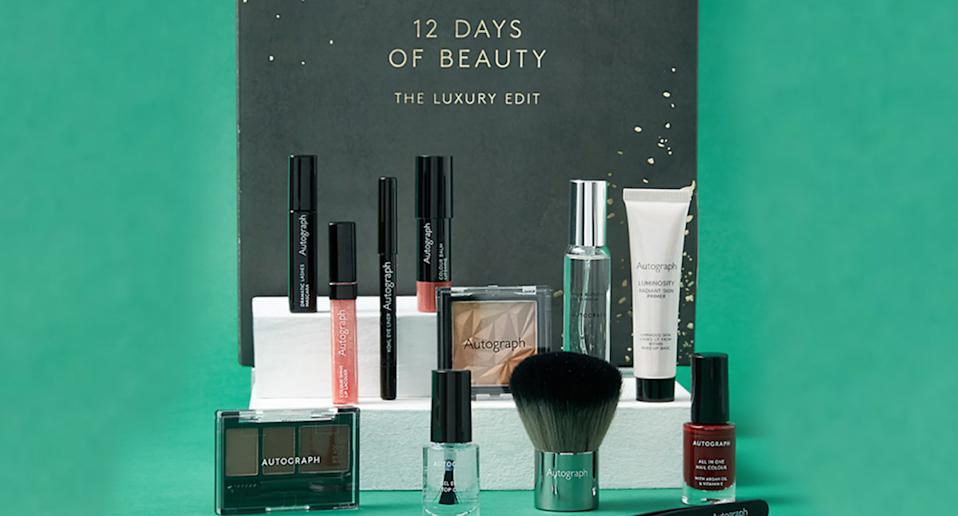 M&S has launched its 12 Days of Beauty Gift Set for 2020. (M&S)